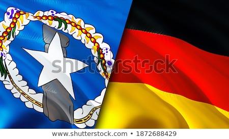 Duitsland noordelijk eilanden vlaggen puzzel geïsoleerd Stockfoto © Istanbul2009