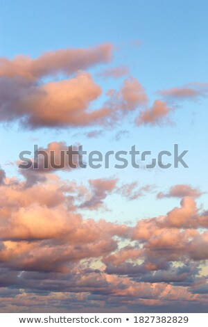 Beautiful dramatic ocean with ferry in sunset Stock photo © Hofmeester