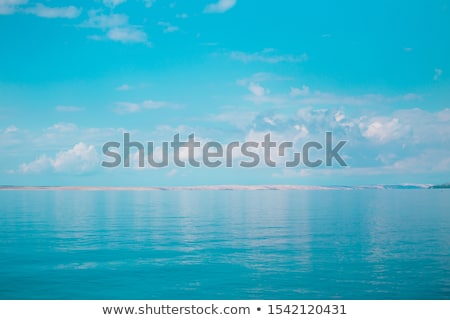 夏 日 海 風景 海岸 パノラマ ストックフォト © Steffus