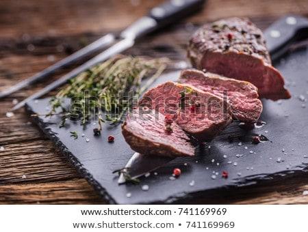 Thyme beef tenderloin Stock photo © Digifoodstock
