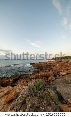 komp · korlát · bója · mediterrán · tenger · Spanyolország - stock fotó © amok