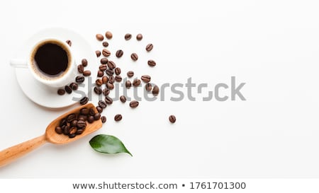 coffee cup and beans stock photo © karandaev