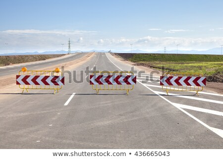 Stop barrier #3 Stock photo © Oakozhan