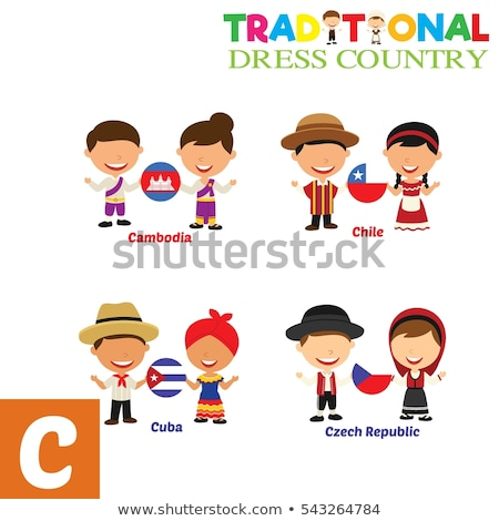 Cuba · vlag · witte · abstract · ontwerp · verf - stockfoto © bluering