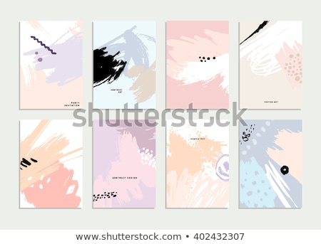 Pastel Blot Stock photo © barbaliss