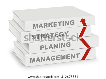 Growth Strategy  - Book Title. Stock photo © tashatuvango
