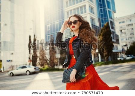 Moda görüntü kadın poz Stok fotoğraf © Imabase