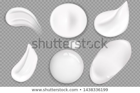 Smear Realistic Icon Vector Isolated Transparency Stock photo © robuart