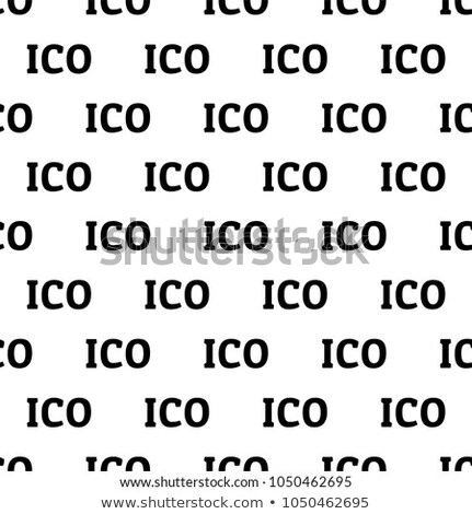 Crypto seamless design. Digibyte cryptocurrency pattern wallpaper. Blockchain technology background. Stock photo © JeksonGraphics