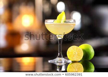 Cam klasik kokteyl arka plan içmek salon Stok fotoğraf © Alex9500