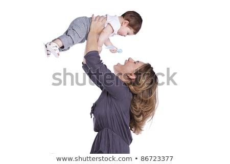 Alegre madre bebé nino afecto Foto stock © lichtmeister