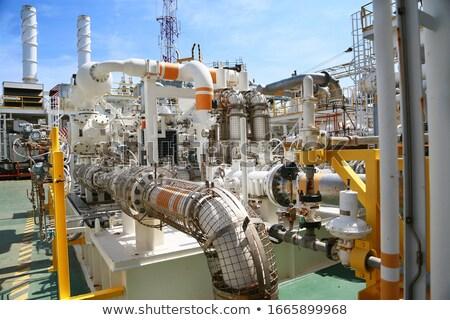 ipari · viselet · benzinkút · pumpa · fúvóka · üzlet · munka - stock fotó © mayboro