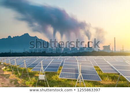 Coal And Solar Stock photo © Lightsource