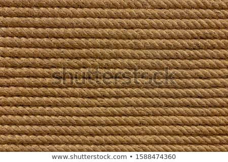 Oude gebruikt touwen achtergrond detail Stockfoto © boggy