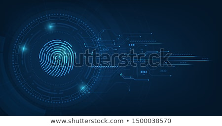 Hacked System Concept Vector Stock photo © THP