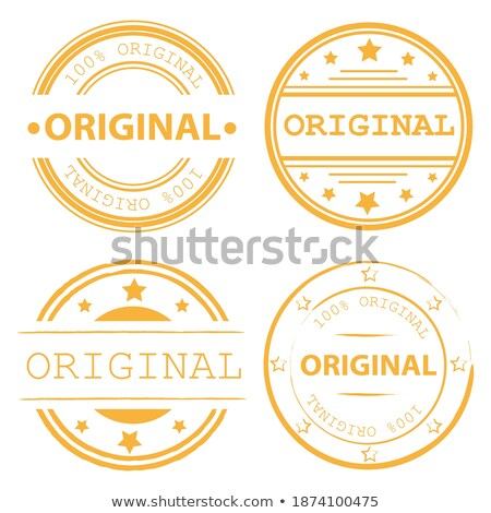 Originale certifié produit quatre Photo stock © SArts