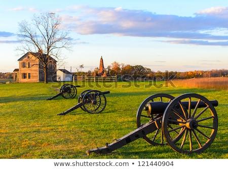 Cannons at Manassas Battlefield Stock photo © backyardproductions