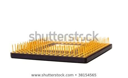 núcleo · CPU · 3D · prestados · ilustración · dos - foto stock © restyler