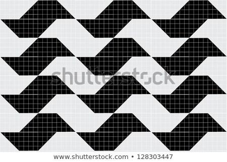 interesting tile pattern on sidewalk in the city Stock photo © Melvin07
