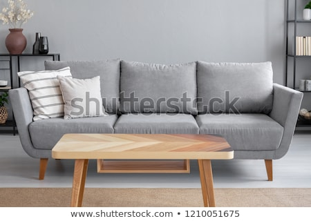 Couch and Coffee table Stock photo © Vectorminator