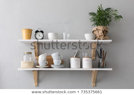 Cuisine plateau maison maison fruits verre Photo stock © jet_spider
