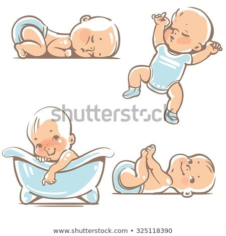 mały · płacz · chłopca · samotny · wyraz · twarzy · szczegół - zdjęcia stock © dahlia