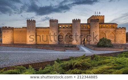 Aljaferia Palace in Zaragoza, Spain Stock photo © aladin66