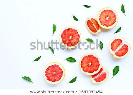 Sabroso blanco aislado naturaleza frutas naranja Foto stock © lypnyk2