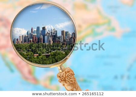 Dowtown Calgary Stock photo © CrackerClips