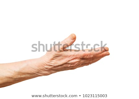 Сток-фото: Old Woman Hands