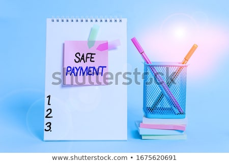 Business card holder general Stock photo © tony4urban