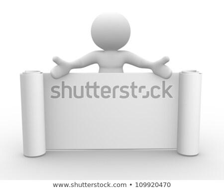 Etykiety tekst symbol działalności papieru Zdjęcia stock © Archipoch