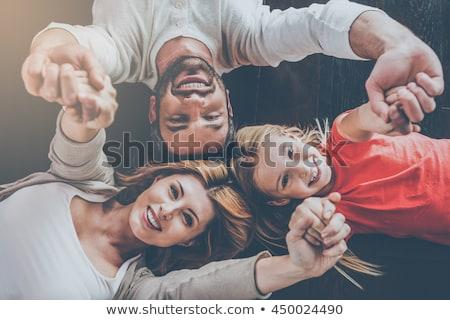 счастливым · отец · дочь · рук · домой - Сток-фото © get4net