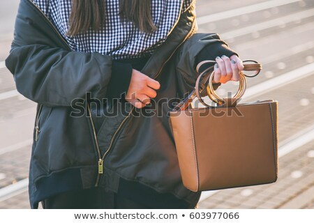 ファッション · モデル · ブルネット · レトロな · ポーズ - ストックフォト © zastavkin