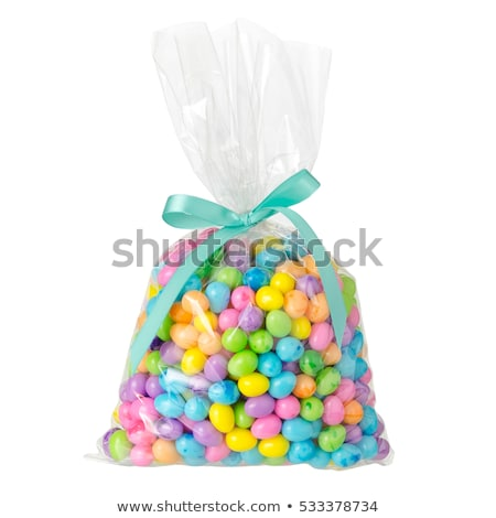 şeker çanta kol dışarı büyük Stok fotoğraf © stevemc
