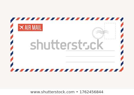 airmail envelope stock photo © oblachko