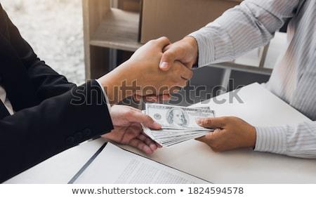 hombre · proyecto · de · ley · dólares · efectivo · cartera - foto stock © stevanovicigor