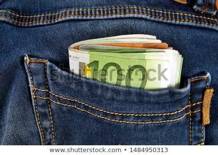stealing european money out of pocket Stock photo © gewoldi