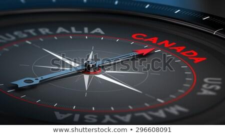 verkoop · Canada · grunge · tekst · business - stockfoto © jet_spider