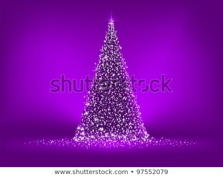 élégante pourpre Noël eps vecteur fichier Photo stock © beholdereye