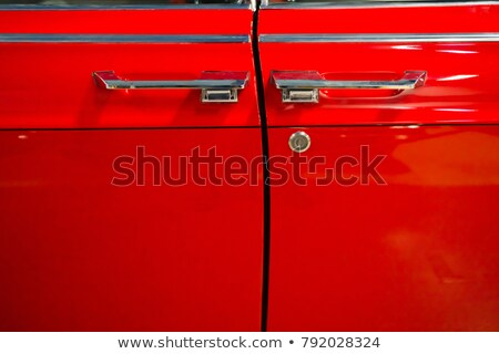 Luxury cherry red car Stock photo © mtoome