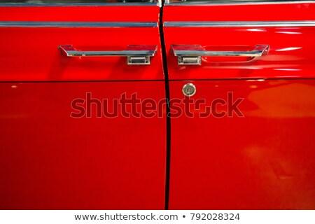 戻る · 提灯 · 車 · 赤 · 黒 · 現代 - ストックフォト © mtoome
