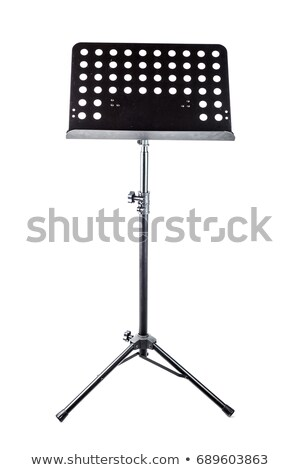 background music, lectern and score stock photo © marimorena