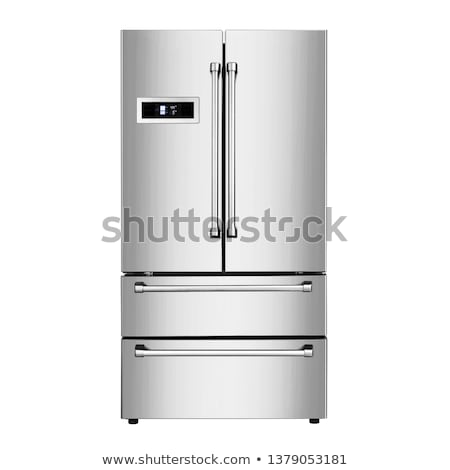 modern refrigerator stock photo © ozaiachin