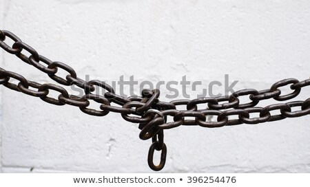 old lock and chain stock photo © stocksnapper