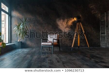 Grunge interior edad luces edificio Foto stock © cla78