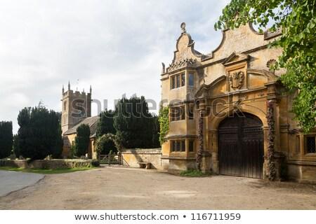 starych · angielski · kościoła · cmentarz · w. · Anglii - zdjęcia stock © backyardproductions