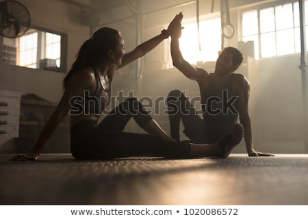 a couple after a fitness session Stock photo © photography33