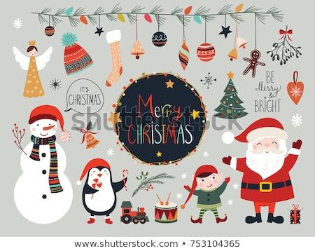 cute · christmas · communie · abstract · ruimte · witte - stockfoto © re_bekka