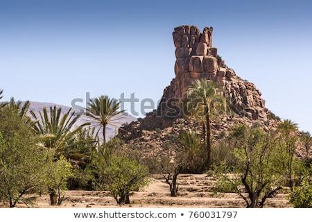Marocco Hat rock montagna meridionale Foto d'archivio © ajlber